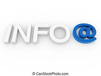 3, információs anyag, zománc, jelkép, kék