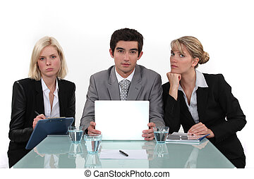 3 interviewers