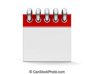 #3, kalender, ikone