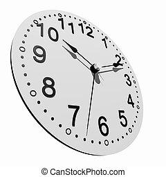 3, klocka