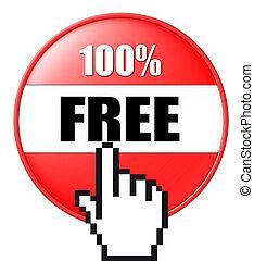 3, knapp, gratis