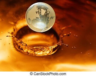#3, kristal, globe