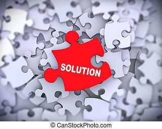 3, lösning, pussel del