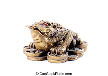 3 Legged Toad on a Bed of Coins