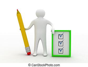 3, mand, hos, checklist