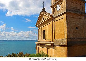 3, mare, chiesa