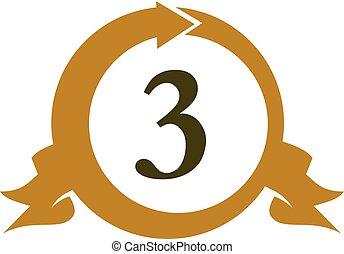 3, moderne, nombre