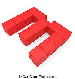 3, numero, rosso, cubico