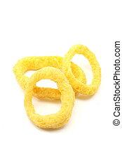 3 Onion Rings snacks