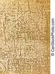#3, papier, oud, textuur