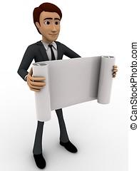3, pappers- mangårdsbruksenhet, rulla, begrepp