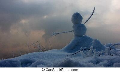 3, paysage hiver