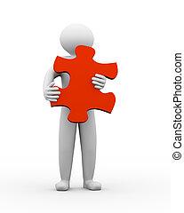 3, person, holdingen, problem