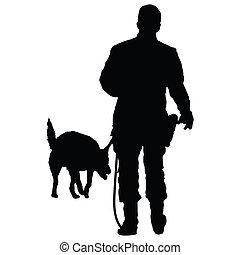 3, politi hund