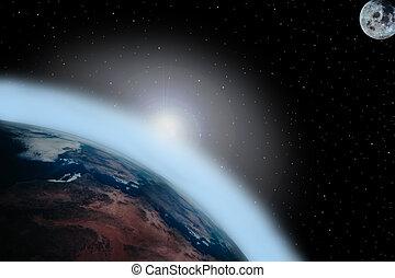 3, réchauffement planète
