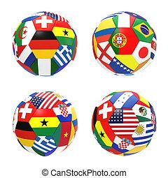 3, render, közül, 4, futball foci, előad, verseny, csoport, g betű, képben látható, 2014, fifa, világbajnokság, képben látható, white, háttér