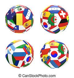 3, render, közül, 4, futball foci, előad, verseny, csoport, h, képben látható, 2014, fifa, világbajnokság, képben látható, white, háttér