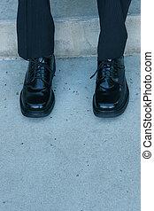 3, scarpe, affari