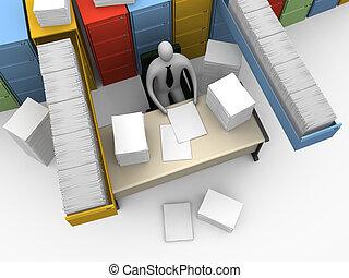 #3, skrivbordsarbete, ändlös