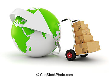3, verden vide, handel, begreb