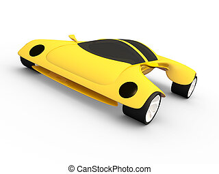 #3, voiture, concept