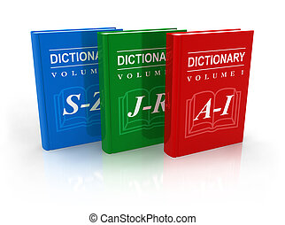 3-volume dictionary