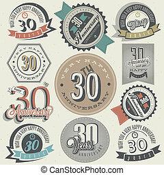 30, コレクション, 型, 記念日