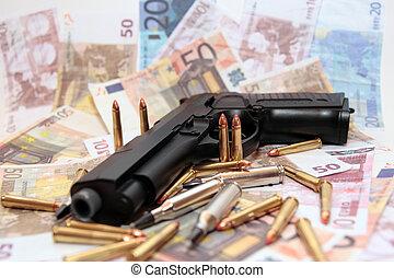 30, 銃, 犯罪