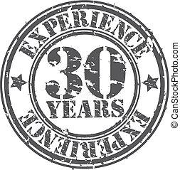 30, années, grunge, expérience