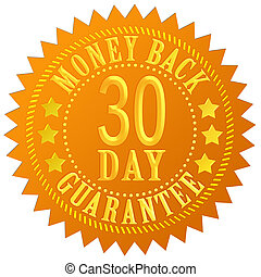 30 day money back guarantee seal