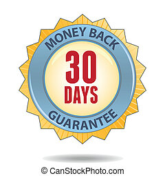 Money back guarantee - 30 Days Money back guarantee badge