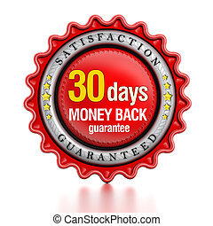 30 days money back stamp
