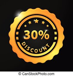30% Discount badge