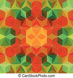30 - Vector Abstract Mosaic Pattern or Background