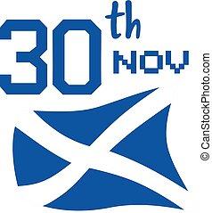 30 november scotland day