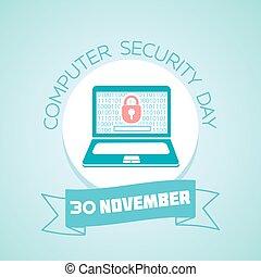 30, novembro, segurança computador, dia