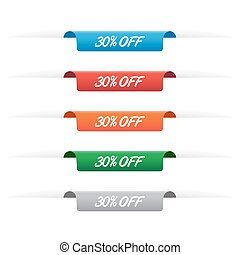 30% off paper tag labels