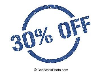 30% off stamp