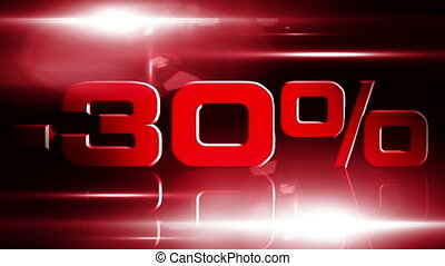 30 percent OFF 03 - 30 percent OFF discount animation