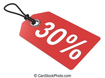 30, percent., tag., 価格