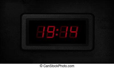 30 Second Digital Count Down Display - Digital timer display...