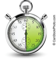 stop watch. - 30 seconds stop watch.