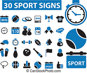 30 sport signs