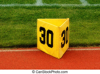 30 Yard marker