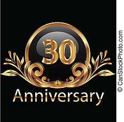 30 years anniversary birthday