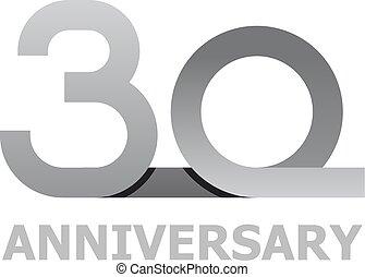 30 years anniversary number