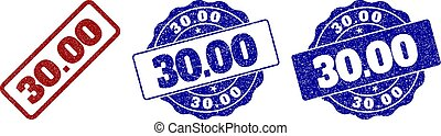 30.00 Scratched Stamp Seals