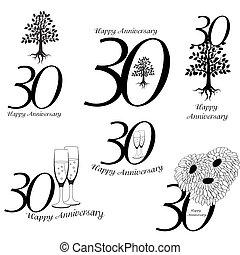 30th, 記念日, コレクション, サイン