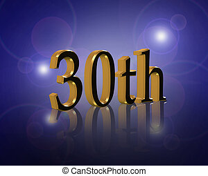 30th, 誕生日パーティー, 招待