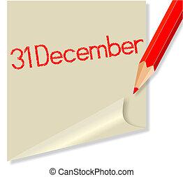31 décembre
